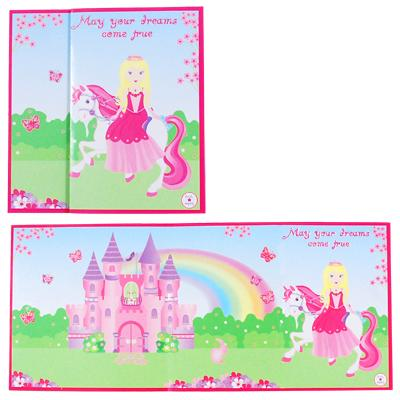 Pink Poppy - Card - Princess