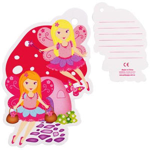 Pink Poppy - Gift Tag - Fairy Meadows