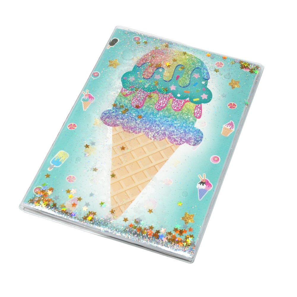 Pink Poppy - Sweet Treats Glitter Notebook