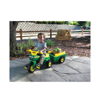 John Deere - Pedal Trike and Wagon