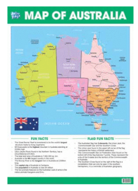 Anker Play - Education Chart - Map of Australia