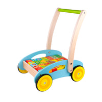 Tooky Toy Baby Walker Forest