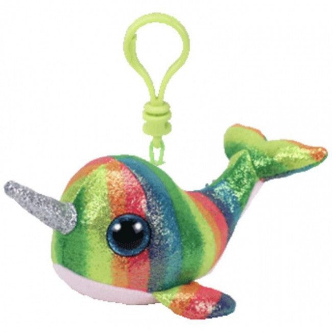 Ty Beanie Boo  - Clip On - Nori the Narwhal