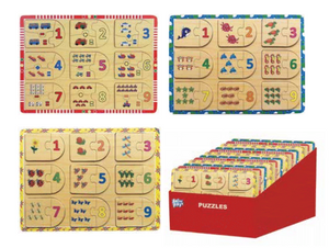 Anker Play - Counting Puzzle - 3 Assorted
