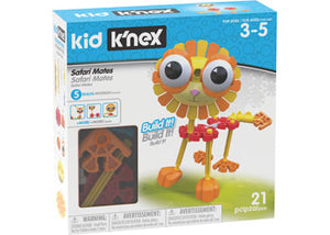 K'Nex Kid - Safari Mates 21pc