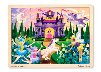 Melissa & Doug - 48pc Wooden Puzzle - Fairy Fantasy