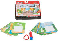 Melissa & Doug - On the Go Water WOW! Splash Cards - Letters & Animals