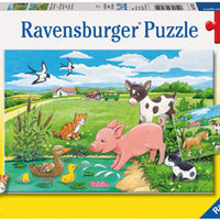 Ravensburger - 2x12pc Baby Farm Animals - RB07582-9