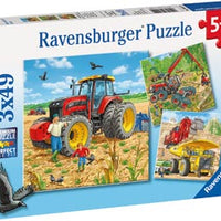 Ravensburger - Giant Vehicles 3x49 - RB08012-0