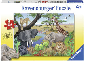 Ravensburger - 60 pc Safari Animals - RB09600-8
