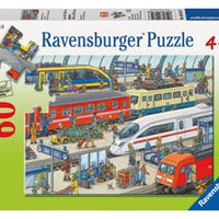 Ravensburger - 60pc Railway Station -  RB09610-7