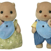 Sylvanian - Splashy Otter Family