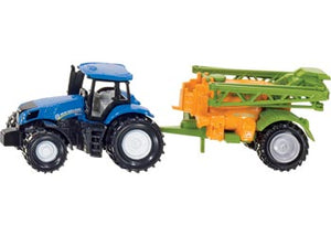 Siku - New Holland & Amazone Tractor with Crop Sprayer - SI1668
