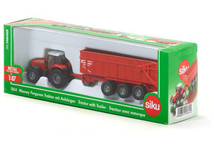 Siku - Massey Fergson Tractor with Trailer - SI1844