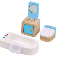 Tooky Toy Mini Furniture - Bathroom