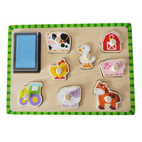 Tooky Toy Farm Stamp Puzzle