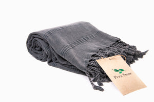Open image in slideshow, Turkish Towel, beach towel, bath towel, prewashed towel, stonewashed towel, pera stone