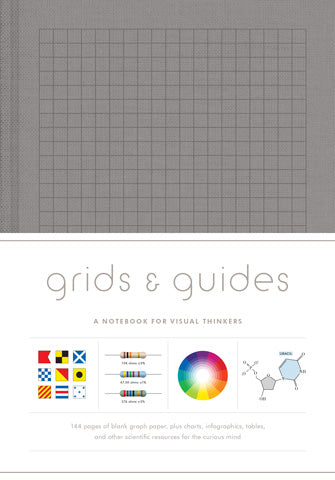 Grids & Guides Notebook (Gray)