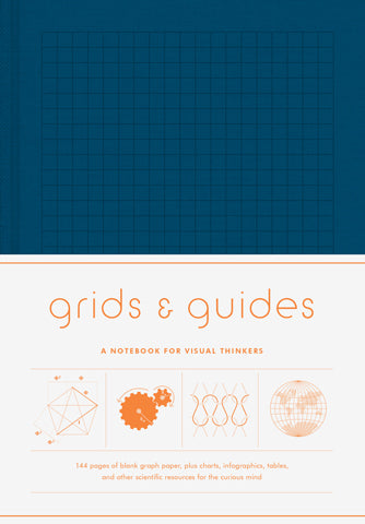 Grids & Guides Notebook (Navy)