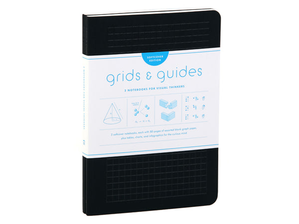 Grids & Guides: Softcover (Black)