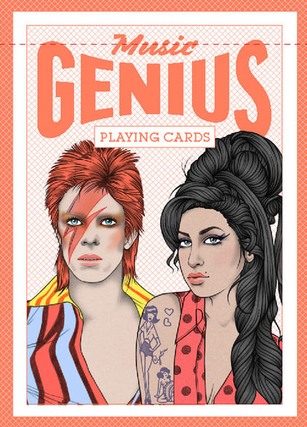 Genius Music Playing Cards