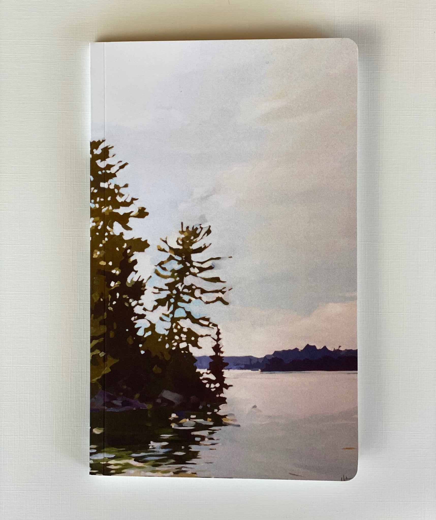 Breezy Pine Notebook (blank)