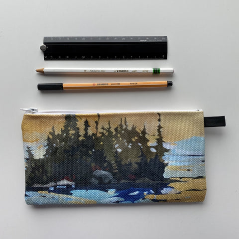 Golden Sky Pencil Case