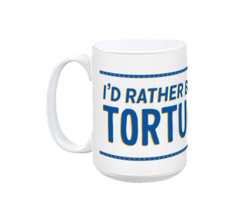 """I'D RATHER BE AT TORTUGA"" Office Coffee Mug"