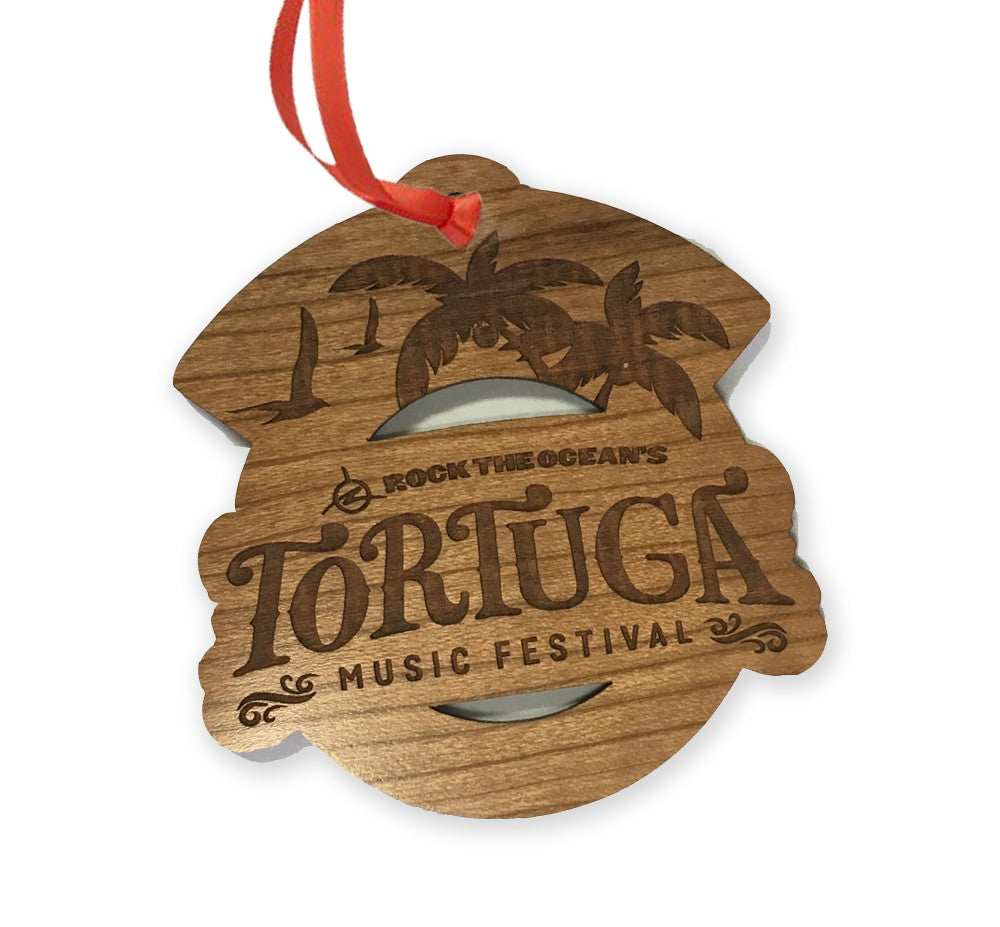 Wooden Die-Cut Logo Tree Ornament