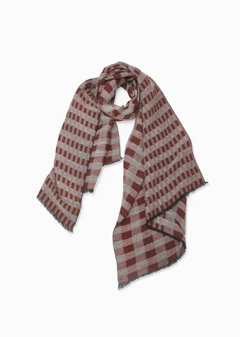 Look - Chess Pleats Scarf