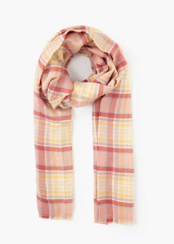 Look - Vivid Plaid Scarf