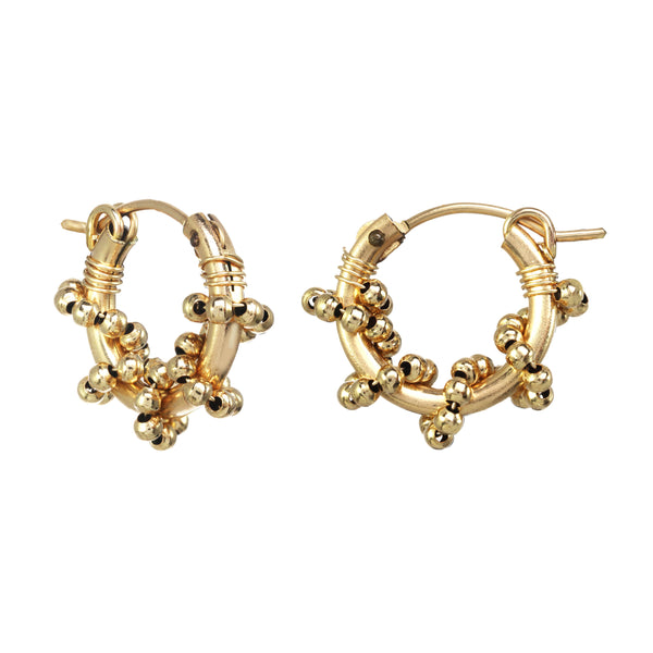 Kozakh - Valla Earrings Gold