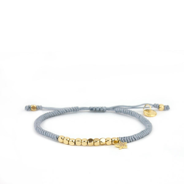 Marlyn Schiff - Beaded Pull Tie with Star Bracelet