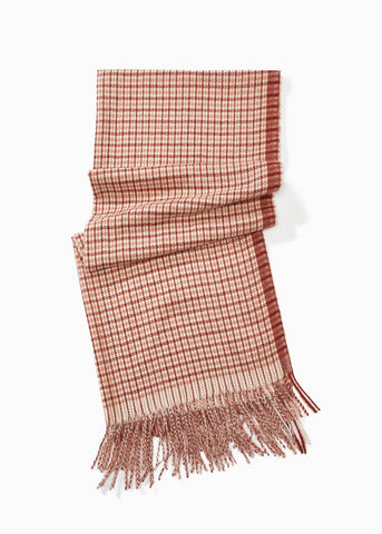 Look - Two Tone Classic Checker Scarf