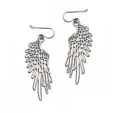 Daphne Olive - Small Wings #3 Earring Silver