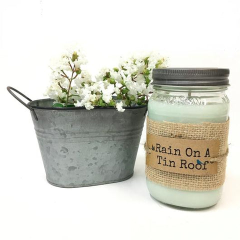 U. Scents - Rain on a Tin Roof 16oz Candle