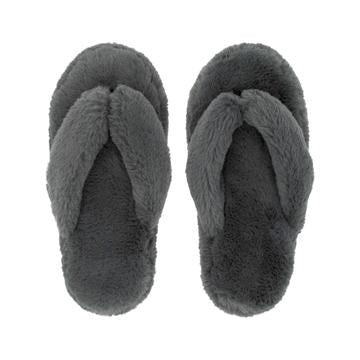 Pudus - Grey Thong Slipper
