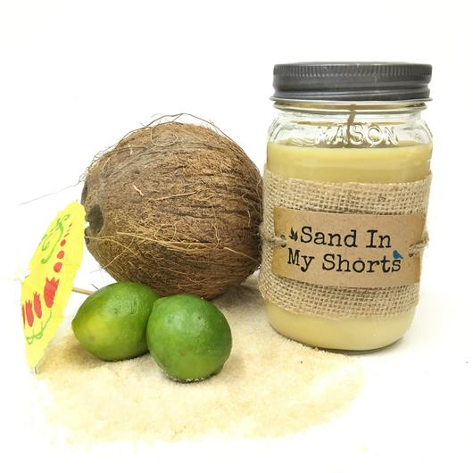 U. Scents - Sand in My Shorts 16oz Candle
