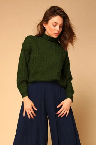 Juniper Cable Knit Sweater