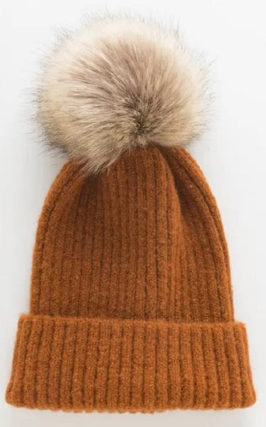 Fallon Hat - Burnt Orange
