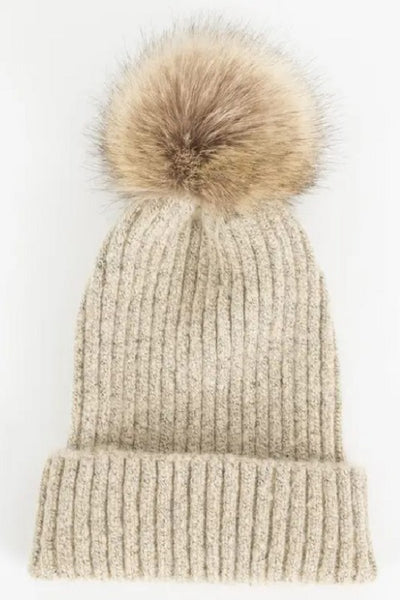 Fallon Hat - Beige