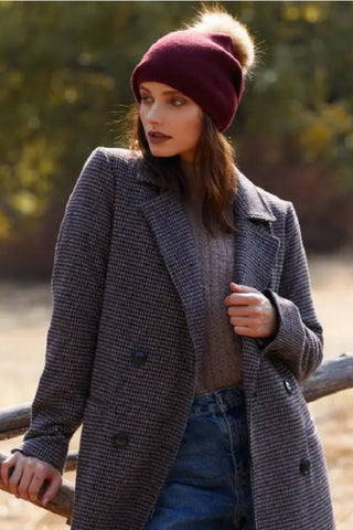 Indie Hat - Burgundy