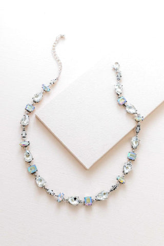 Iridescent Flare Necklace