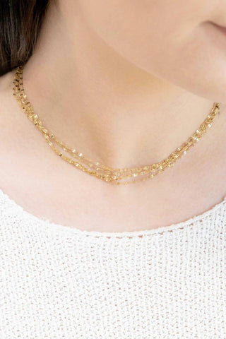 Gold Rush Layered Necklace