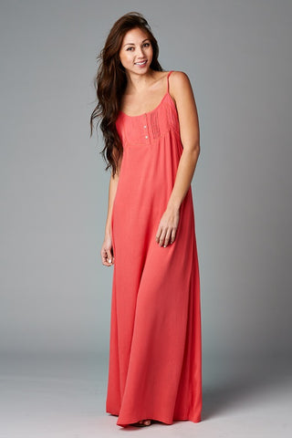 Romantic Tunic Maxi Dress
