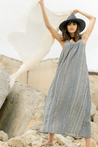 Canggu Maxi Dress - Navy