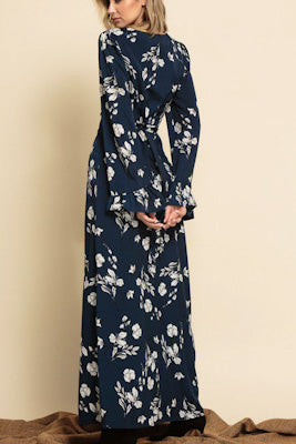 Hailey Belted Maxi Dress