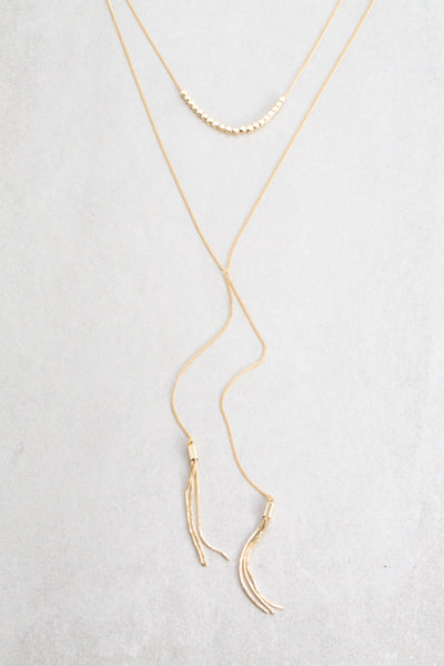 Hensley Layered Y-Necklace