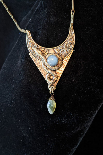 Moon of Ishtar Pendant Necklace
