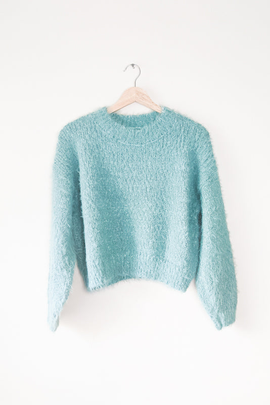 O-Neck Textured Sweater